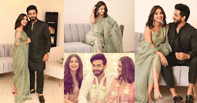 Saboor Aly and Ali Ansari spent their First Eid together