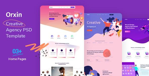 Best Creative Agency PSD Template