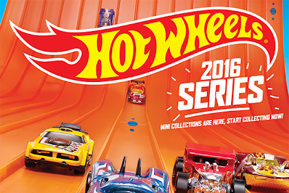 Poster Hot Wheels Edisi 2016