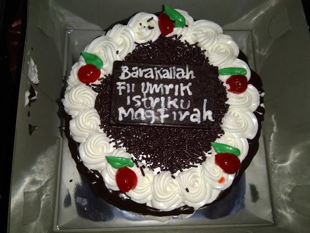 Kue Ulang Tahun yang ke 34 Istriku mahgfirah