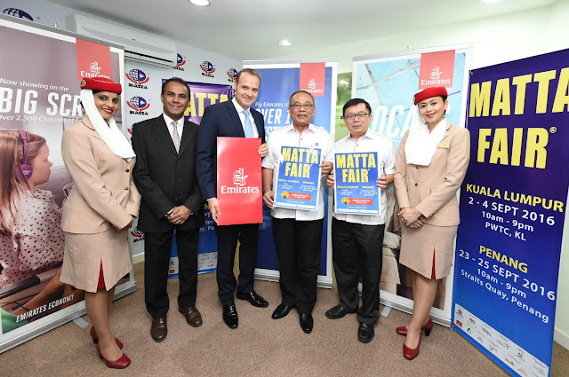 Emirates Official Airline Partner at this year's MATTA Fair September 2016