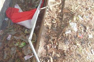 Perusakan Bendera Asrama Mahasiswa Papua