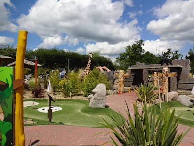 Congo Rapids Adventure Golf at Ufford Park Hotel in Suffolk