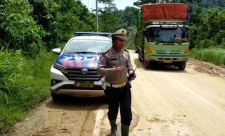 Kendaraan Besar Menuju Pesibar Bertahap Diizinkan Melintasi Jalinbar Semaka