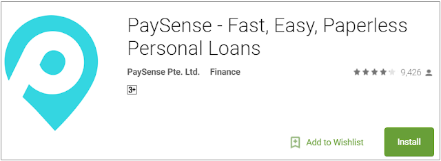 PaySense – Instant Personal Loans