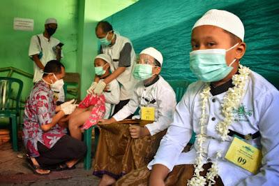 120 Anak Ikuti khitanan Umum 2020 PCNU Kota Pasuruan