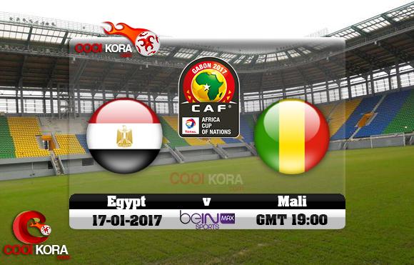 مشاهدة مباراة مصر ومالي اليوم كأس أمم أفريقيا 17-1-2017 علي بي أن ماكس