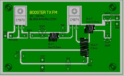 Cara membuat Booster Pemancar fm 1970 dan 1971