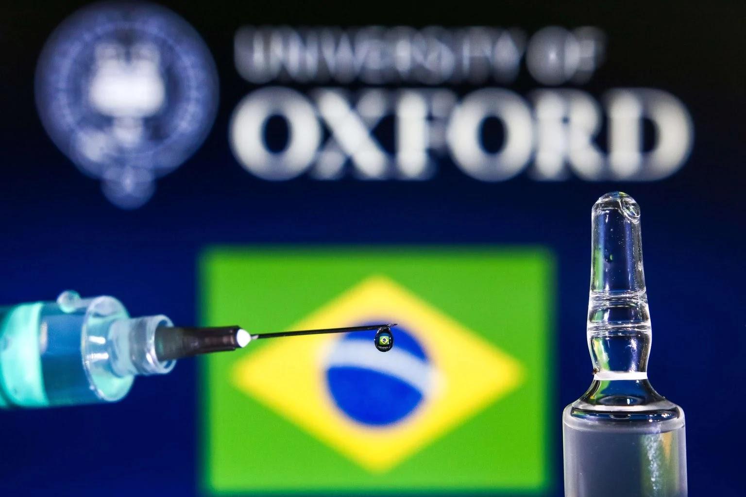 Vacina da Oxford será 100% feita no Brasil