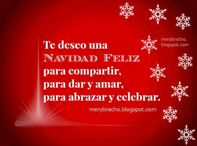 Tarjeta Navidad Feliz para compartir. feliz navidad 2018, feliz año nuevo 2019 Imágenes lindas de feliz navidad para amiga, amigo, familia, empresa, negocios. Feliz año nuevo, feliidades en Navidad.  Postales cristianas de navidad para amigos facebook.