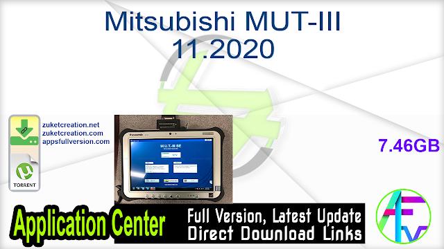 Mitsubishi MUT-III 11.2020 + Crack