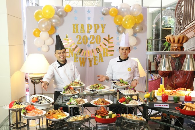 Eat Till You Drop During Festive Season @ Grand Blue Wave Hotel Shah Alam