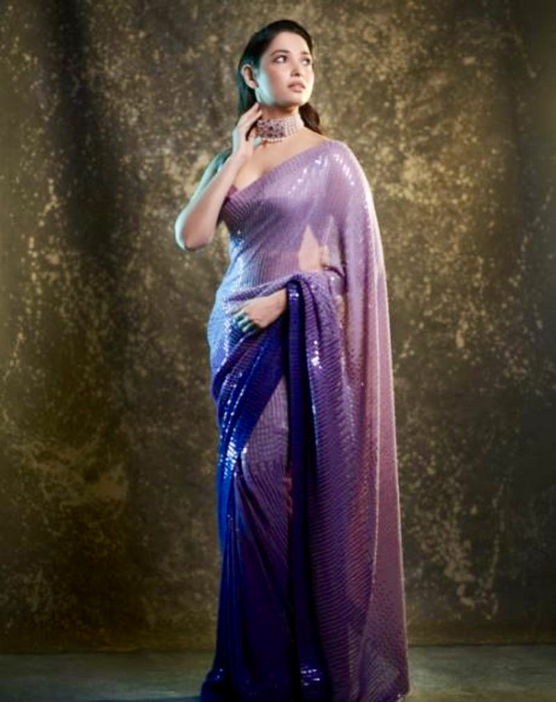 thamannah-latest-silk-saree-photo