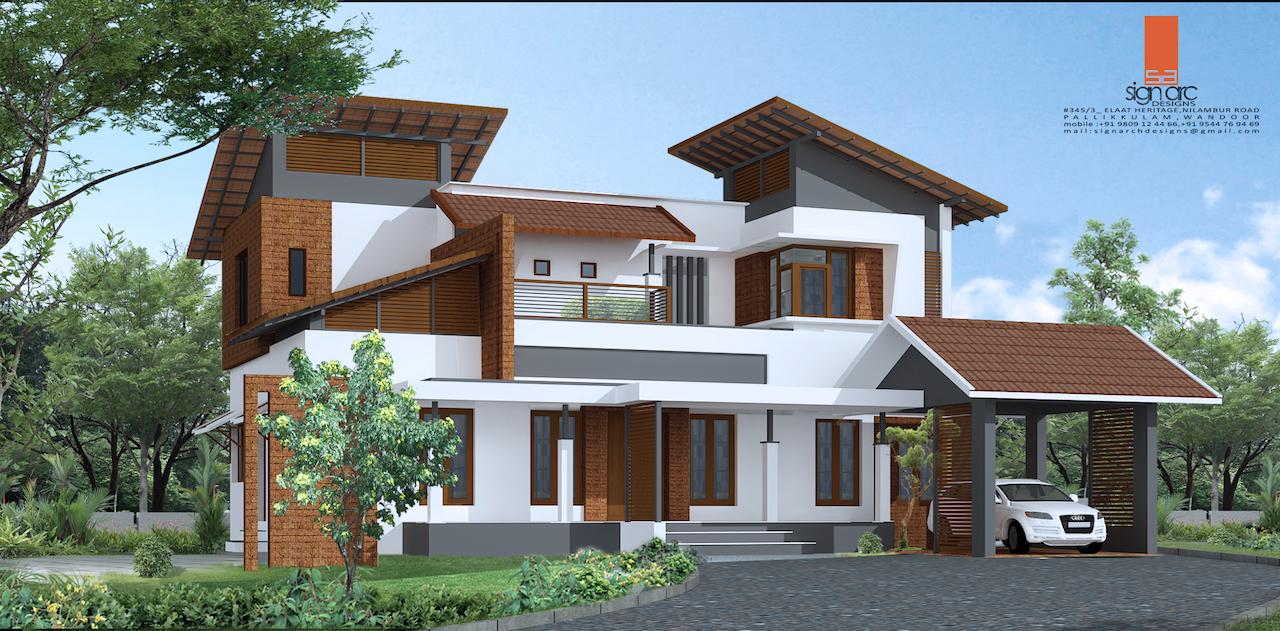 63 Lakh 4 BHK 2530 sq ft Manjeri Villa