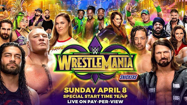 WrestleMania 34 live streaming online
