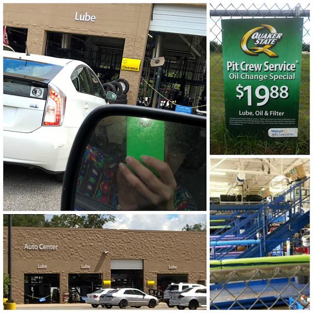 Quaker State Walmart Auto Center #MyColectiva #CambialoConQS