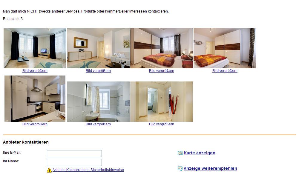 wohnung komfortable m blierte 2 zimmerwohnung mit balkon freie. Black Bedroom Furniture Sets. Home Design Ideas