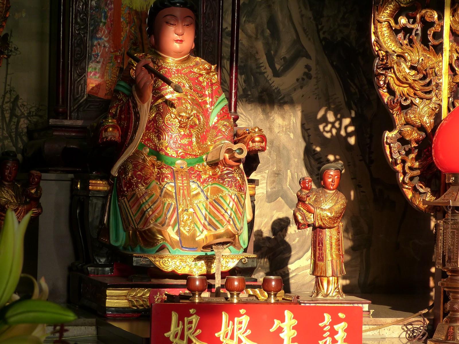 媽祖和她的家庭: 臺中旱溪樂成宮