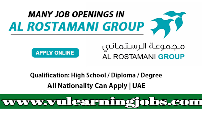 Al Rostamani Group Job Vacancies In UAE 2019 - Vulearning Jobs