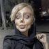 Así luce joven iraní, por querer parecerse a Angelina Jolie