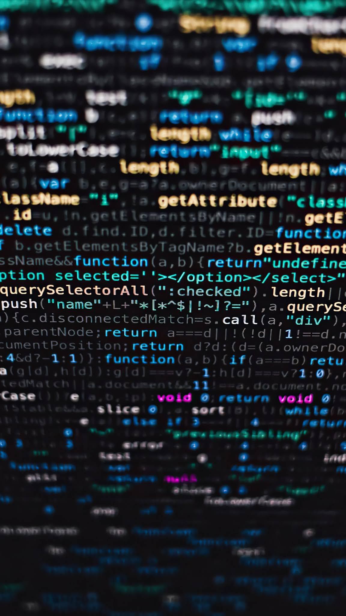 code wallpaper for phone