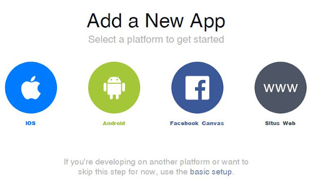 Membuat App ID