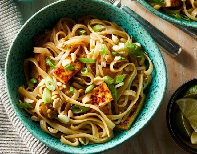Vegan Pad Thai #vegetarian #recipes