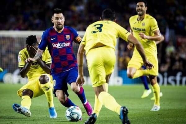 فوز برشلونة على  فيا ريال بنتيجة 2-1 من تسجيل  جريزمان و ارثر