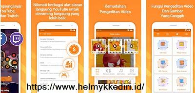 Aplikasi untuk merekam layar android