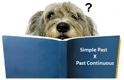past continuous and simple past