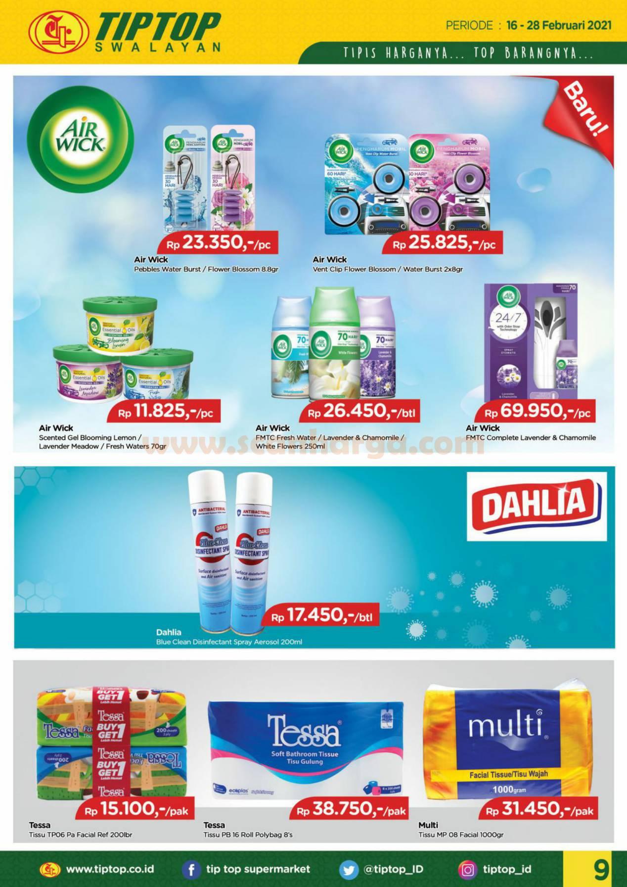 Katalog Promo Tip Top Pasar Swalayan 16 - 28 Februari 2021 9