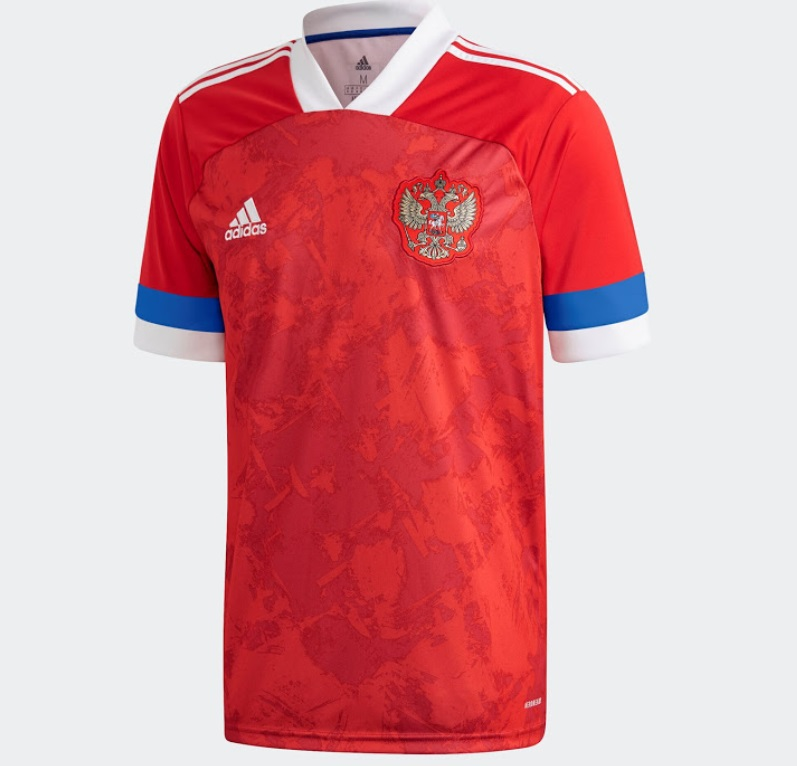 Russia Home Kit for Euro 2020