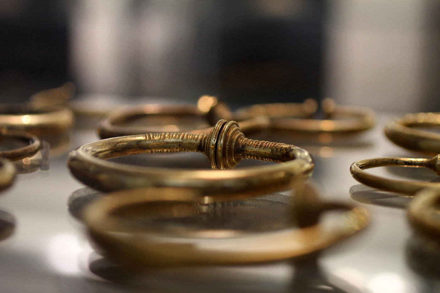 bracelets from the nationalmuseet - 5 most fun things to do in copenhagen
