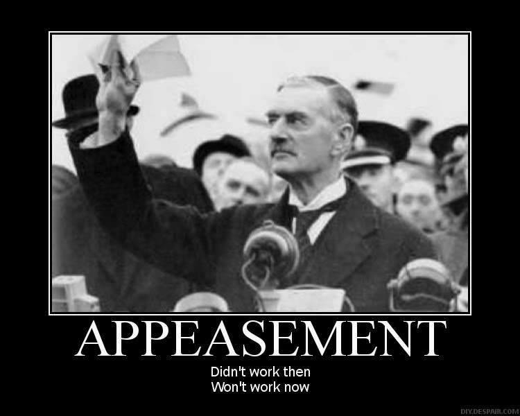 what has been any appeasement