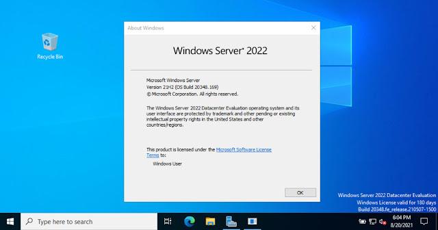 تحميل Windows Server 2022 بصيغة ISO