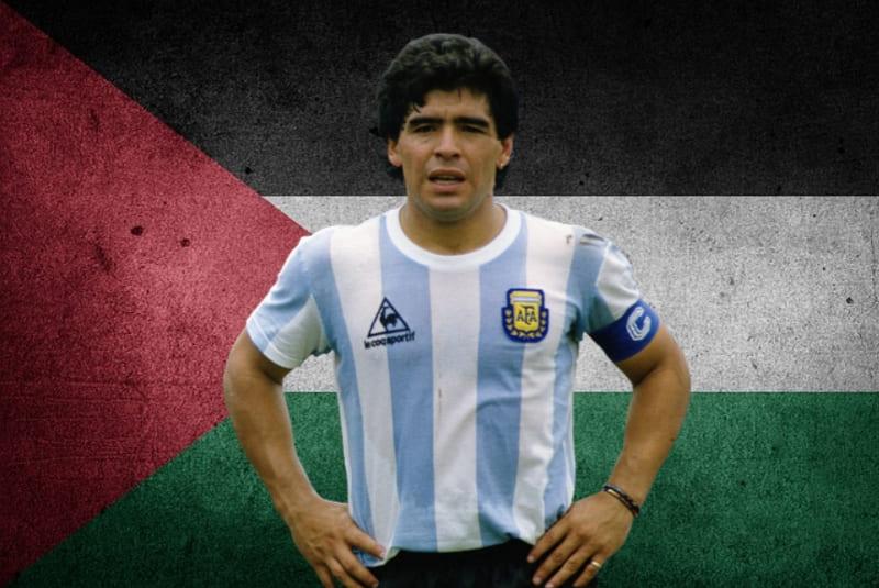 Yang Terkenang dari Maradona: Aku Seorang Palestina