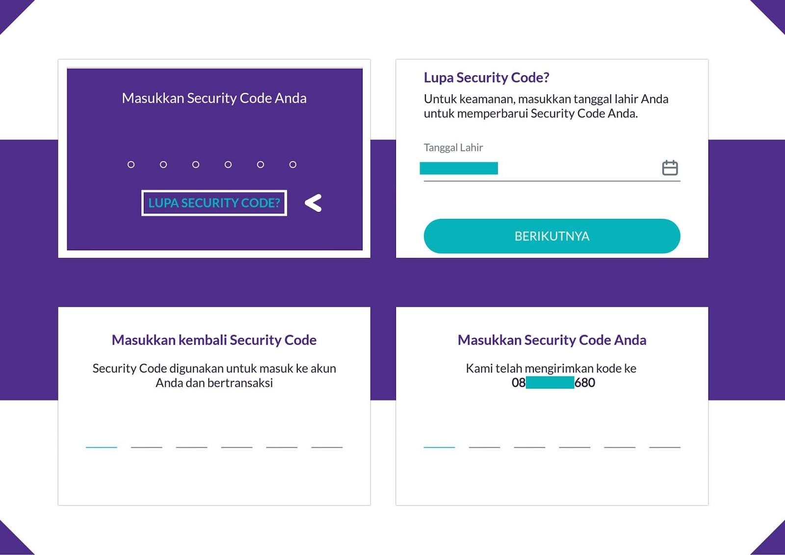 Solusi Bagi Yang Melupakan Security Code Di Akun Ovo Internet Sememi