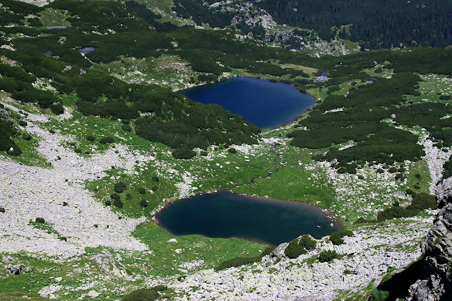 Vidal and Gâlcescu lakes