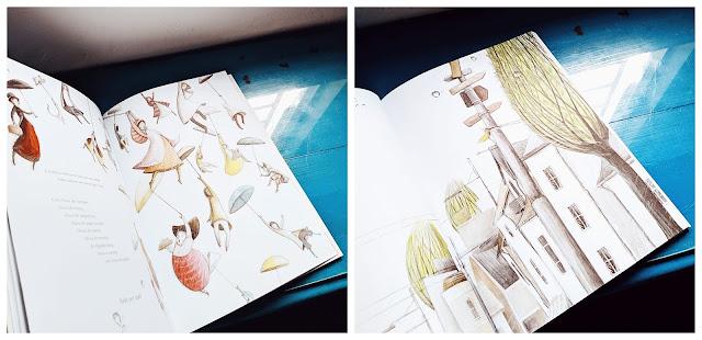 ilustracoes livro o colecionador de chuvas