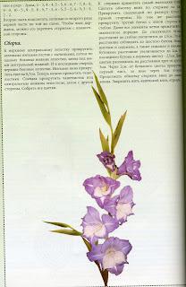 Гладиолус из бисера французским плетением. Мастер-класс