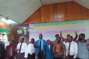 Gereja (kingmi) Jemaat Nafiri Geitapa paniai , menggelar (RKJ)  kegiatan rapat kerja untuk pelayanan tahun 2021.