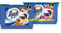 Logo Vinci gratis 30 pack di Dash PODS 3in1 15 lavaggi