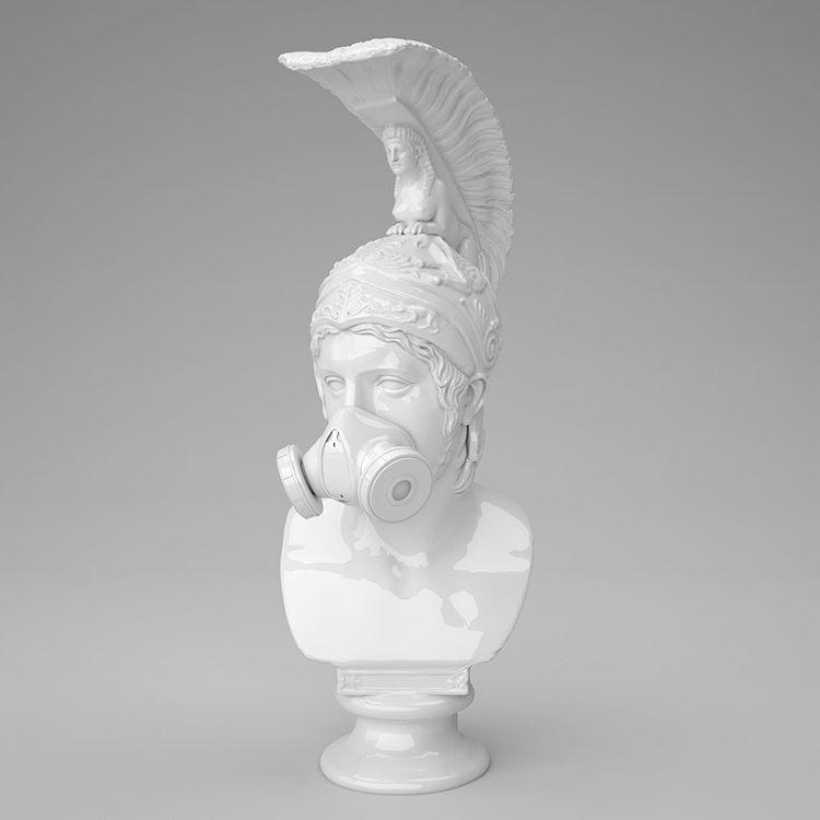 Las esculturas 2.0 de Leo Caillard