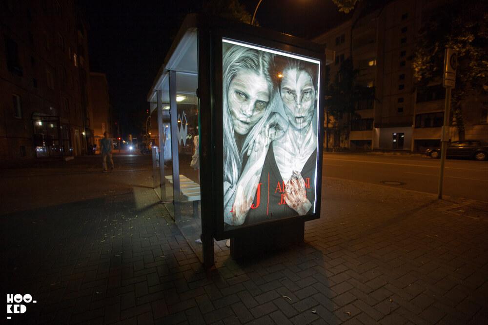 Berlin Street Art - Adbusting with artist Vermibus