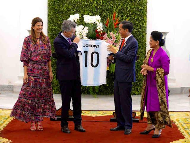 Jokowi dan Mauricio Macri Bahas Kerjasama Indonesia - Argentina