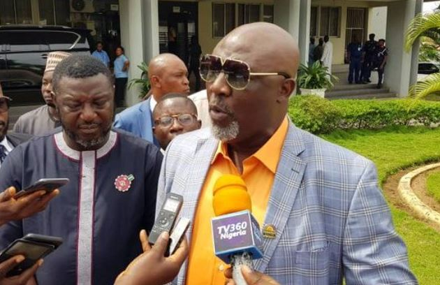 Kogi West: Melaye storms INEC office with 21 video clips