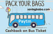 Bus Tickets Rs. 150 Cashback on Rs. 350 – PayTM