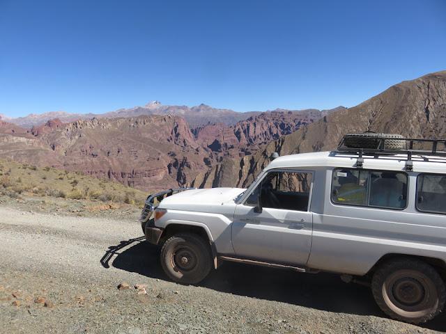 Fahrt zum großen Fest in Cienega Bolivien