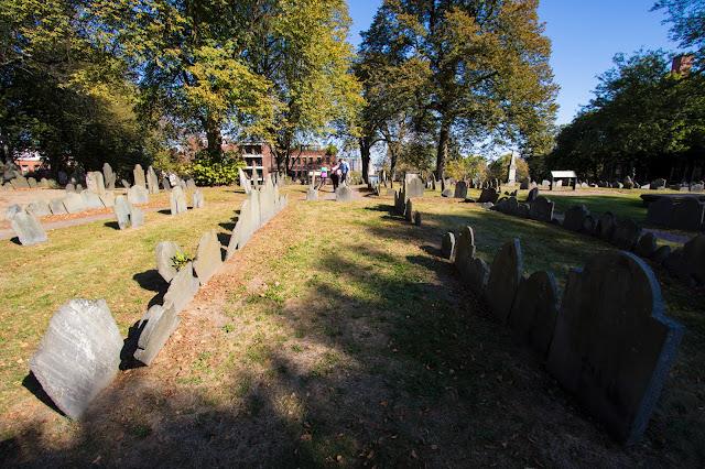 Old north church e Copp's hill buying ground-Boston