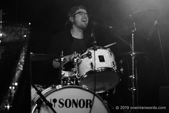 Sam Coffey and The Iron Lungs at The Garrison's Tenth Anniversary Party on October 3, 2019 Photo by John Ordean at One In Ten Words oneintenwords.com toronto indie alternative live music blog concert photography pictures photos nikon d750 camera yyz photographer birthday